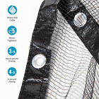 24 ft Round Black Leaf Net Above Ground Pool Cover Winter