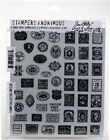 Stampers Anonymous Tim Holtz Cling 7X85 Stamp Collector
