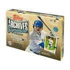 2020 Topps Archives Signature Series Baseball Active Player Edition Hobby Box