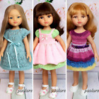 3 Handmade Outfits for 13 inch Paola Reina Doll Knitted dresses