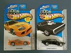2013 HOT WHEELS FAST  FURIOUS Toyota Supra  70 Dodge Charger R T VHTF