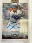 2018 Topps Clearly Authentic Eric Thames Auto 75 and original box