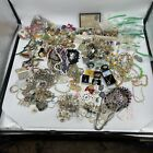 HUGE Vintage New Costume Jewelry Lot 900+ Pieces 23lbs Signed Gold Sterling