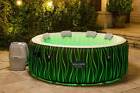 Bestway SaluSpa Premium Inflatable Hot Tub Spa with LED Lights 4 6 Person