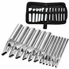 Oval Leather Punch Set 12 Pcs Oval Leather Punch Tools Leather Hole Punch