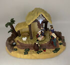 Gemmy Narrated Nativity Light Up Christmas Holiday Musical Talking Scene Display