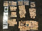 Stampin Up Lot of 124+ Rubber Stamps Miscellaneous Birthday Thank You Friendship