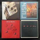 Rush 4 Four Singles Fully Signed In The 1990s For A Journalist