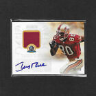 2013 Panini National Treasures JERRY RICE Patch Auto 50 Class Of 2010