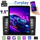 101 Double 2 Din Car Stereo Radio 95 Inch Vertical Touch Bluetooth Head Unit