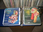 PEZ ad sheet 1969 Christmas Angel Santa Claus double candy display 2 sided 29c