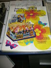 PEZ ad sheet 1971 EASTER psychedelic Fat Ear Bunny Chick Egg salesman 33 CENTS