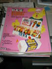 PEZ ad sheet 1975 EASTER Fat Ear Bunny FEB chick duck salesman PINK 49 CENTS