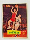 DOLPH SCHAYES syracuse NATIONALS - 1957-58 TOPPS basketball COLLECTOR card