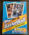 Topps 1992-93 NBA Basketball Series 2 Picture Cards-New Sealed in box