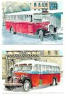 Malta End of an Era Buses  Set of 20 Maximum Cards without Stamps Rare
