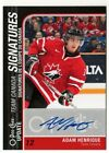 Maple Leaf Marvels: O-Pee-Chee and ITG Canada vs. the World Autographs 41