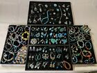 Vintage Modern Native American Mixed Jewelry Lot Turquoise