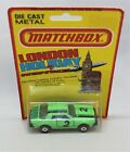 Matchbox Lesney Superfast No63 DODGE CHALLENGER  LONDON HOLIDAY CARD  issue