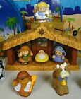 FISHER PRICE 2008 Little People Christmas NATIVITY SET 100 Complete in BOX