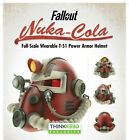 Fallout Nuka-Cola Full-Scale Wearable T-51 Power Armor Helmet (New In Box!)