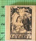 Vintage Balcony BB21 K rubber stamp by Stamp Oasis 1991 Beauty and the Beast