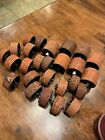 Lot of 26 Stampin Up Around 1 And 2 Roller Wheel Rubber Rollagraph Stamps