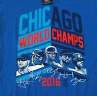 Chicago Cubs T Shirt Players 2016 World Series Champiions MLB Gift Fan, Men