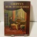 Vintage 1945 Chopins Music To Remember Sheet Music Book 14 Different Songs