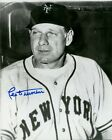 LEO DUROCHER NEW YORK GIANTS CHICAGO CUBS DODGERS AUTOGRAPHED 8 X 10 PHOTO