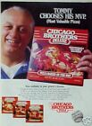 1983 Tommy Lasorda Dodgers Baseball Chicago Pizza AD
