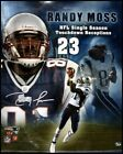 Randy Moss New England Patriots Signed 16x20 Montage