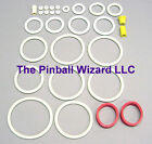 Riverboat Gambler Pinball White Rubber Ring Kit