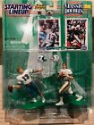 Dan Marino Bob Griese Miami Dolphins 1997 Starting Lineup Classic Doubles