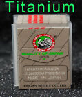 50 MIX SIZE 15x1 HAx1 Flat Shank Sewing Needle Titanium