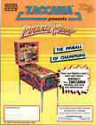 PINBALL CHAMP / SOCCER KINGS Original Flyer ZACCARIA