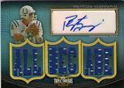 PEYTON MANNING '10 THREADS AUTO 9 JERSEY RELIC SP 18