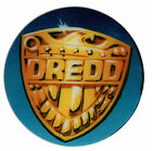 JUDGE DREDD SHIELD Original Pinball Promo Plastic Speaker Cutout BALLY 1993