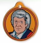 DR WHO Pinball Promo Plastic FOB DOCTOR #3 John PERTWEE