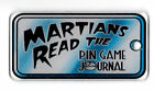 REVENGE from MARS Pinball Promo Plastic PINGAME JOURNAL BALLY Key Chain Fob