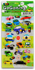 FUN CAR STICKERS Auto Travel Puffy Scrapbook Craft