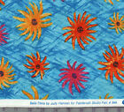 Paintbrush Studio~BELLA FLORA~100% COTTON QUILT FABRIC~BLUE~by the yard