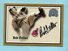 Cleveland Indians Bob Feller 2000 Fleer Greats of the Game Autograph Auto