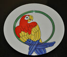 FITZ FLOYD PARROT IN RING 1979 SALAD / DESSERT PLATE #4