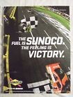 2011 Magazine Advertisement Page Featuring Sunoco Fuel McMurray's Charlotte Win