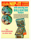 NIP-IT Original PROMO Pinball Flyer 1973 BALLY Brochure Ad Slick HAPPY DAYS
