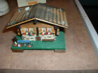 Reuge SMALL Swiss Chalet-Music Box-VGC-