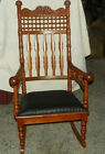 Quartersawn Oak Stick and Ball Rocker / Rocking Chair  (R14)