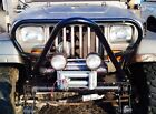 Grill Guard & Stinger Kit Jeep YJ Wrangler rock crawler winch hoop bumper grille