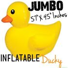 GIANT Inflatable Float Rubber Ducky Duck Birthday Pool Toy Party Outdoor Fun